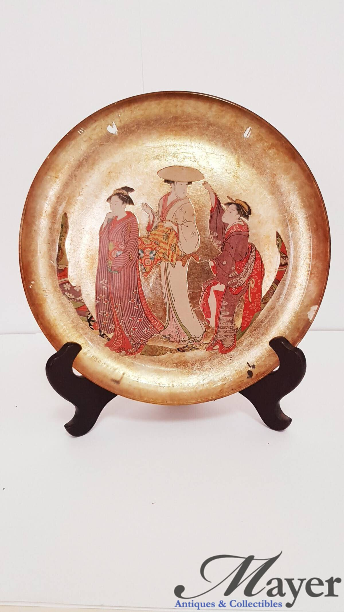 Japanese style decorative plate
