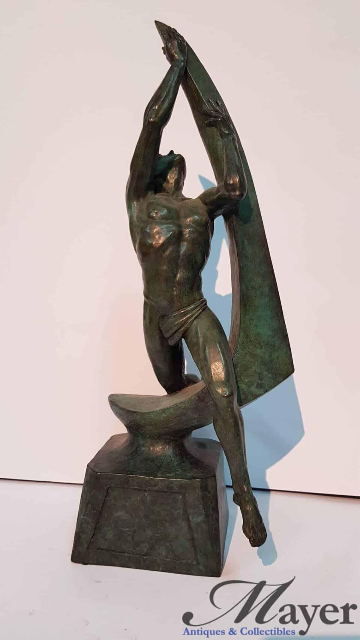 Nude Male Sculpture By William Dean Kilpatrick