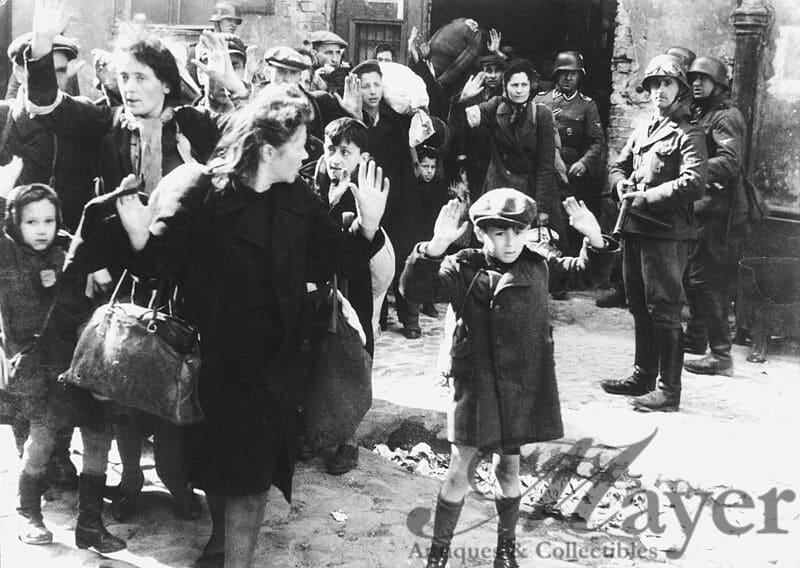 Warsaw Ghetto Uprising Surrender