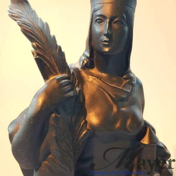 Saint Barbara Skoda Sculpture