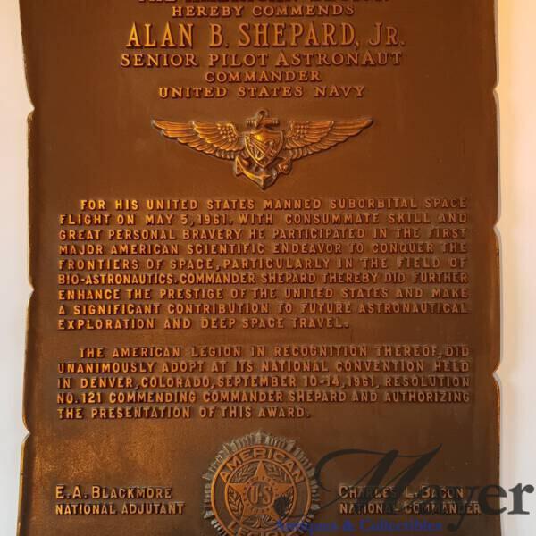 Alan Shepard memorabilia