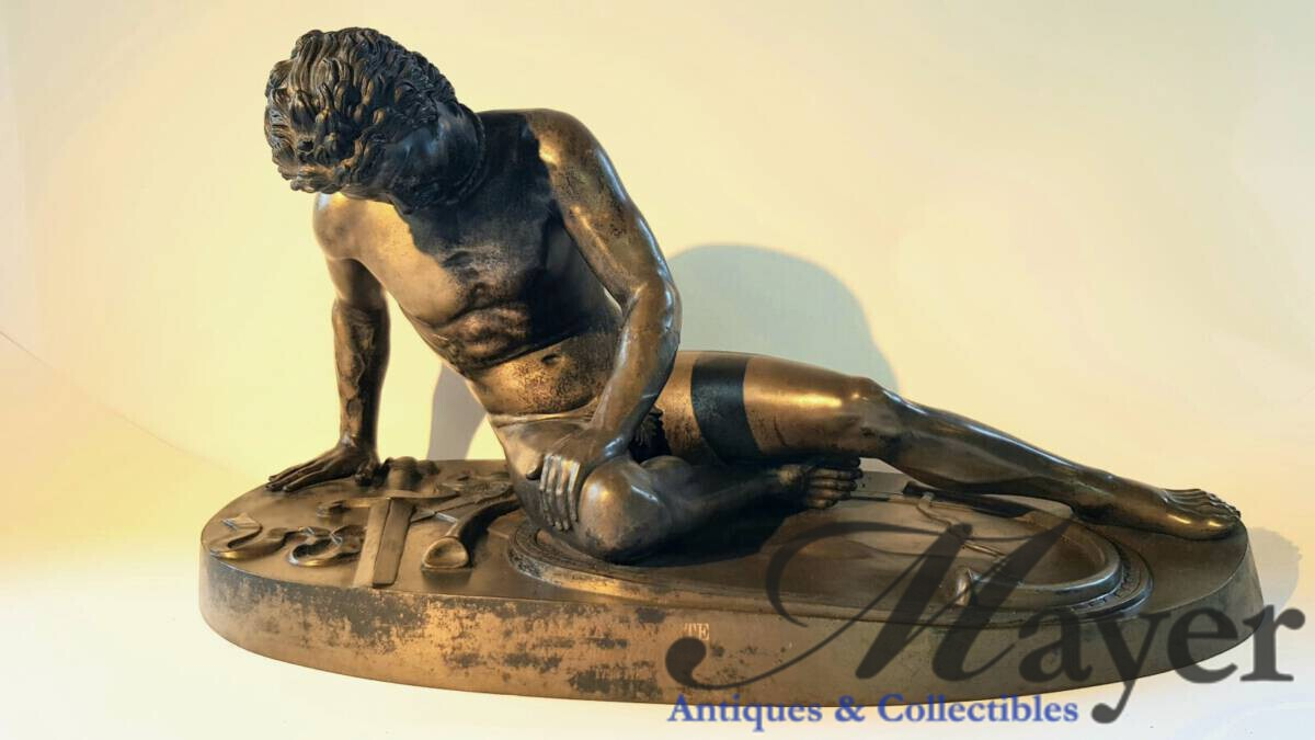 The Dying Gaul bronze sculpture