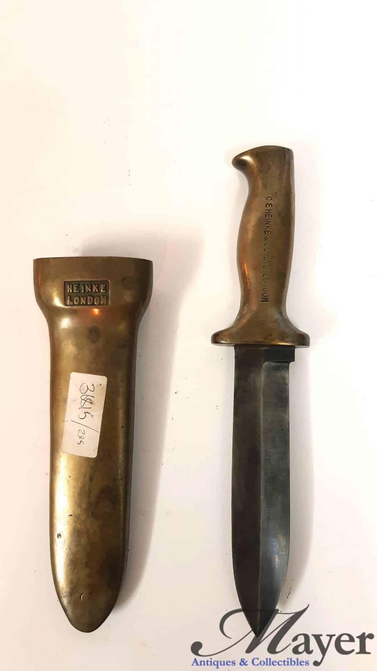 British Navy Diver Knife