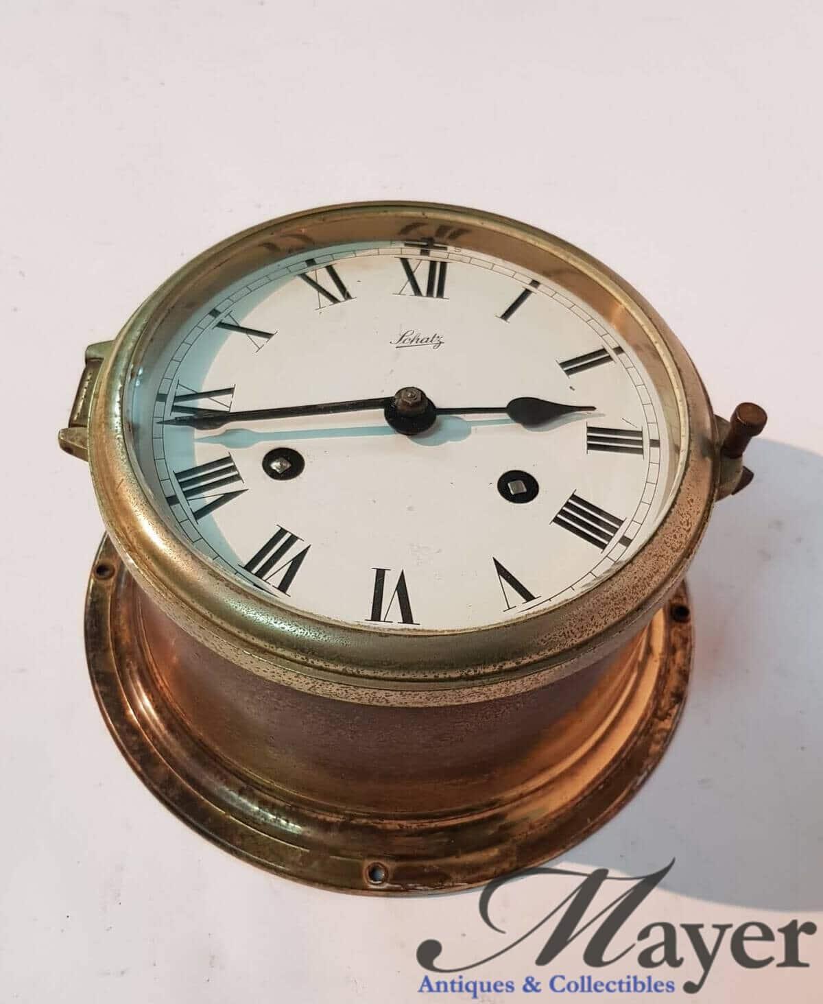 Schatz German Naval Clock