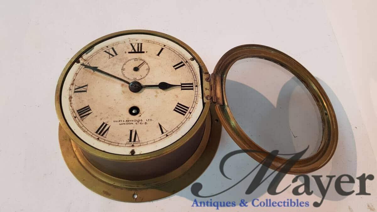 Lilly & Reynolds Naval Clock