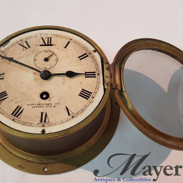 Lilly & Reynolds Naval Clock