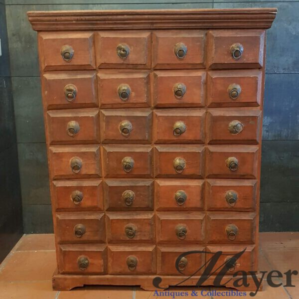 Indian Wooden Pigeon Dresser
