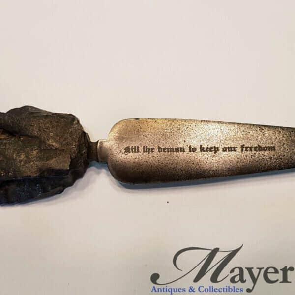 American World War One Trench Art Knife