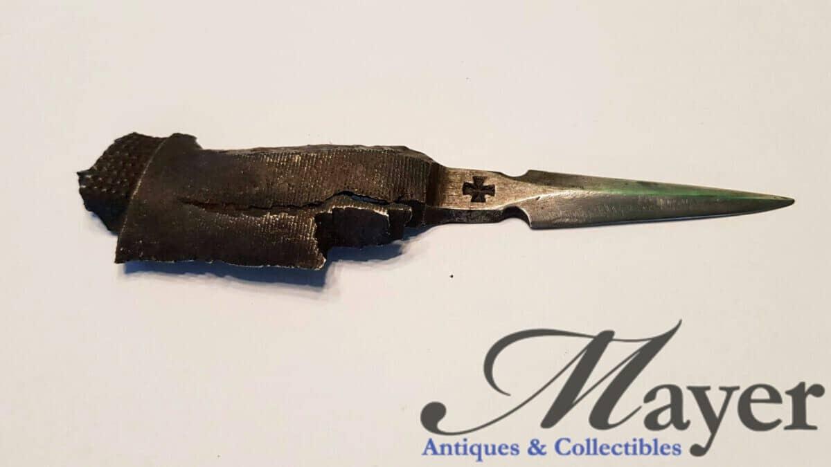 German World War One Trench Art Knife