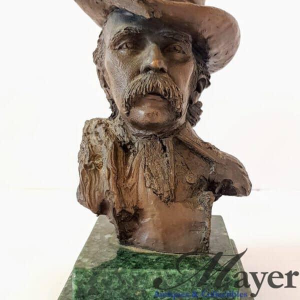 Lieutenant Colonel George Custer Bronze Bust