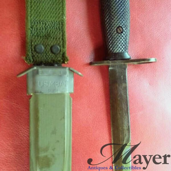 M7 Bayonets With M8A1 Scabbards