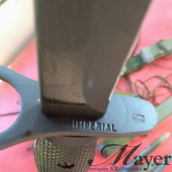 Israeli military surplus Imperial M7 bayonet with M8A1 scabbard