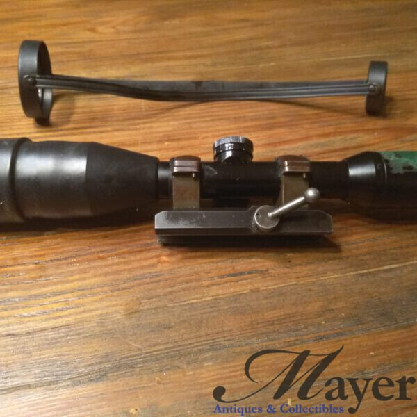 A rare IDF Mauser SP66 mount and Kahles ZF95 scope 6x42 set