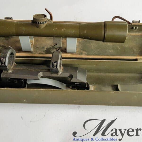 Israeli Mauser K98 Wild Heerbrugg Scope with Mount and Case