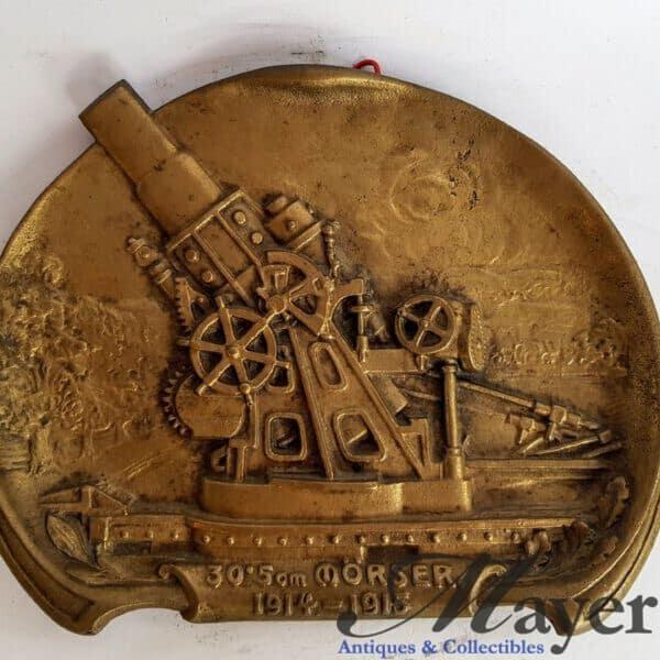 Skoda 305 mm Model 1911 Artillery Howitzer Plaque