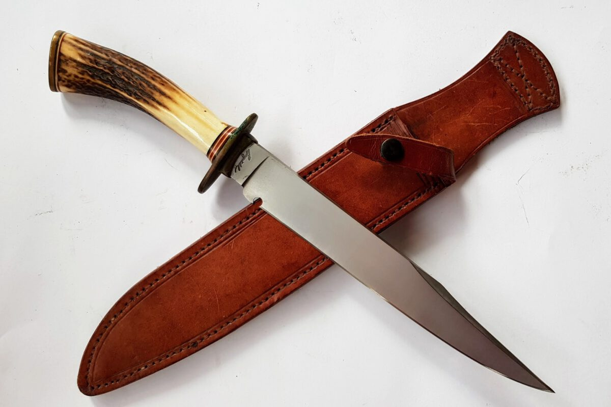 Bill Bagwell Stag Hunting Bowie Knife