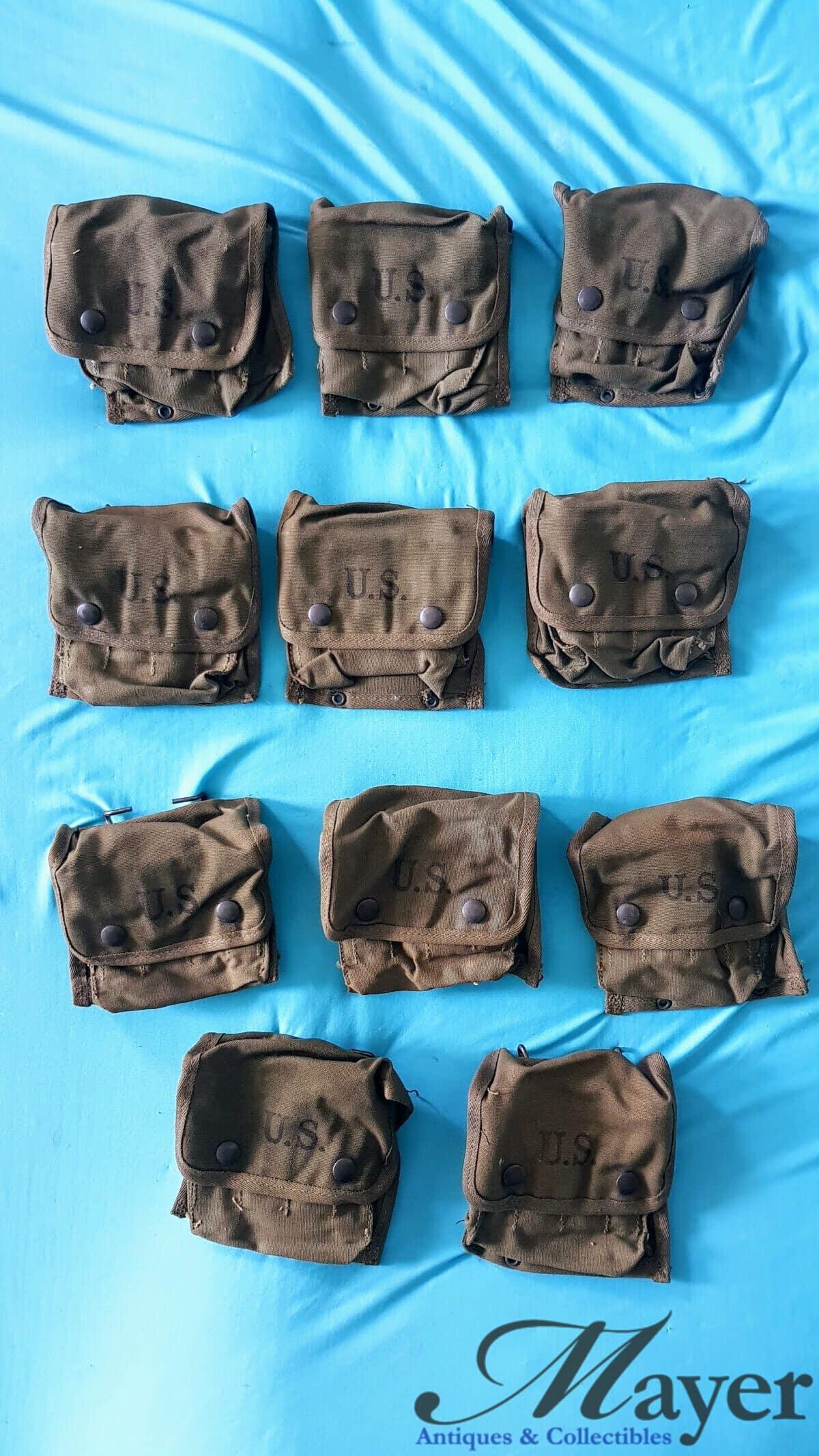 US Army WW2 M2 First Aid Kit Pouch