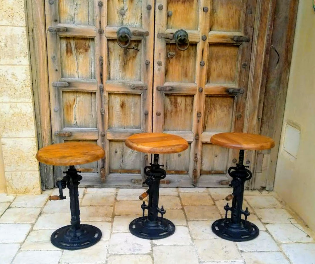 Industrial Design Bar Stools