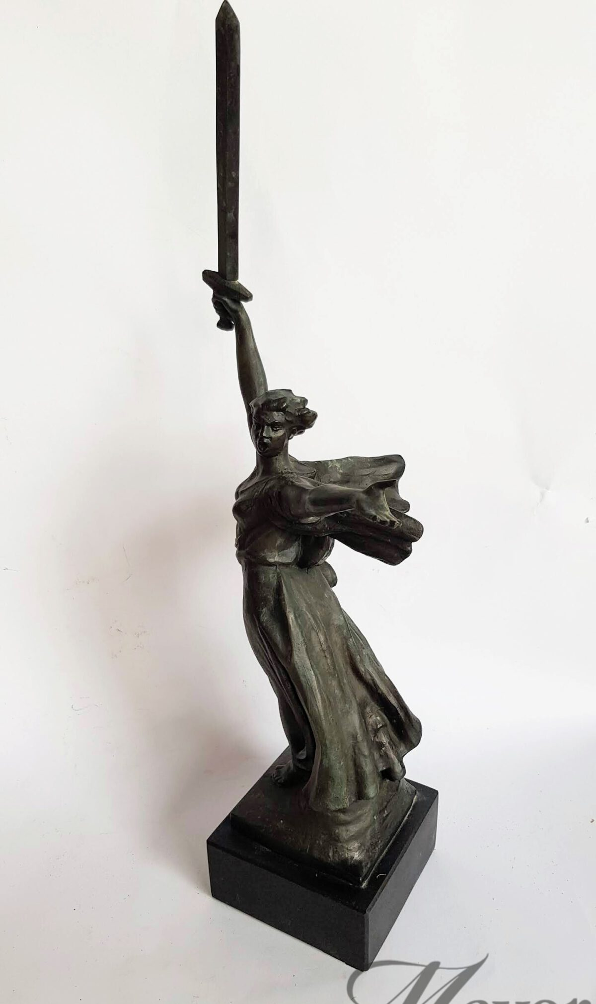 The Motherland Calls by Sculptor Yevgeny Vuchetich